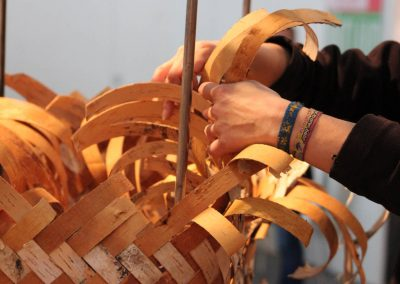 Handwerksmesse München 2017: Stand der Fachschule