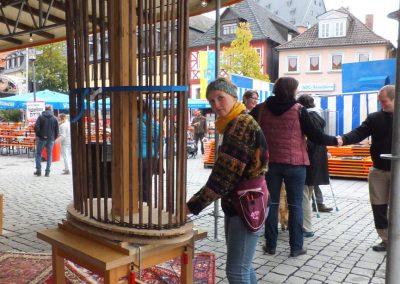 Korbmarkt 2017: Stand der Fachschule, Säule 2
